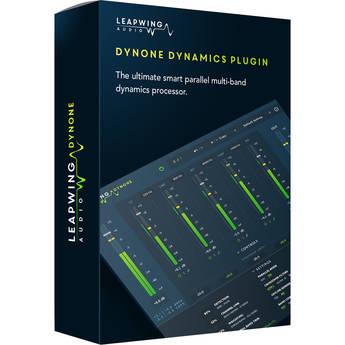 Leapwing DynOne 3 - Parallel Multiband Dynamics Processor Plug-In (Download)