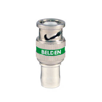 Belden HD BNC Compression Connector for 1694A RG6 Coax Cable (50-Pack)