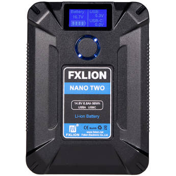 Fxlion Nano Two Ultracompact V-Mount Battery (98Wh)