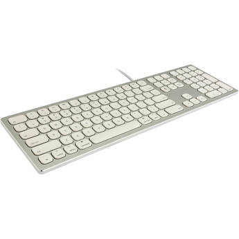 Xcellon Wired Mac Keyboard (Silver)
