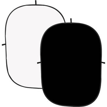 Angler Collapsible Background II 5 x 7' (Black/White)