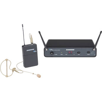 Samson Concert 88x UHF Wireless System with SE10 Earset Mic (D: 542 to 566 MHz)