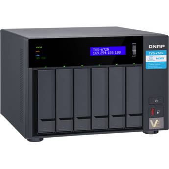 QNAP TVS-672N 6-Bay NAS Enclosure