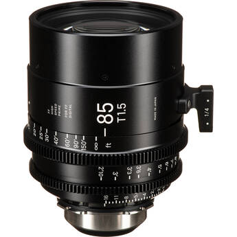 Sigma 85mm T1.5 FF High-Speed Art Prime 2 Lens with /i Technology (PL Mount, Feet)