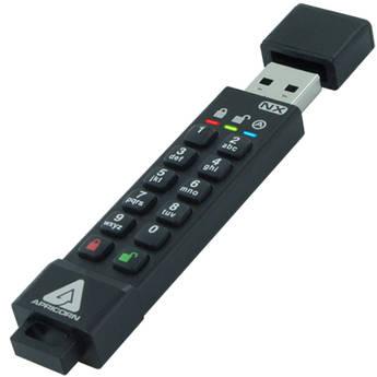Apricorn Aegis Secure Key 8GB 3NX Encrypted USB 3.1 Flash Drive