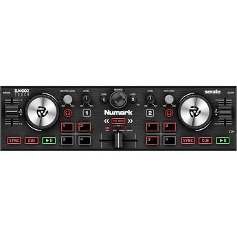 Numark DJ2GO2 Touch Pocket DJ Controller with Touch-Capacitive Jog Wheels