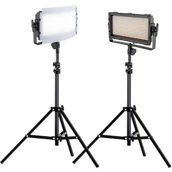 Genaray Spectro LED Essential 500IIB Bi-Color LED 2-Light Kit