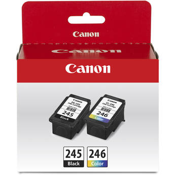 Canon PG-245 / CL-246 Value Pack for PIXMA MX492 & TR4520 Printers