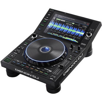 """Denon DJ SC6000 Prime Professional Dual-Layer Media Player with 10.1"""" Multi-Touch Display"""