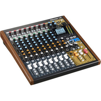 Tascam Model 12 Integrated Production Suite Mixer/Recorder/USB Interface