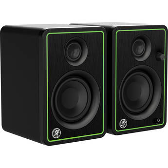 """Mackie CR3-XBT Creative Reference Series 3"""" Multimedia Monitors with Bluetooth (Pair, Green )"""