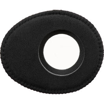 Bluestar Oval Large Viewfinder Eyecushion (Ultrasuede, Black)