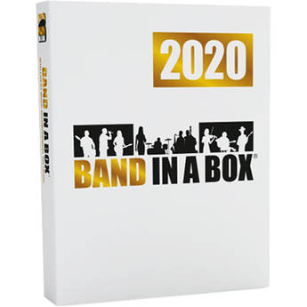 PG Music Band-in-a-Box 2020 MegaPAK - Automatic Accompaniment Software (Windows, Download)