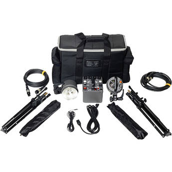 Dynalite MK8-1222V RoadMax 800Ws 2 Head Kit (120V)