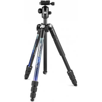 Manfrotto Element MII Aluminum Tripod with Ball Head (Blue)