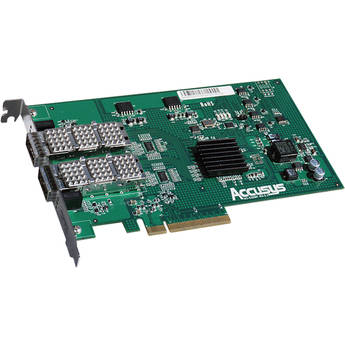 Accusys Z2M-G3 Dual Port QSFP HBA Card for PCIe3.0 x8 or above slot