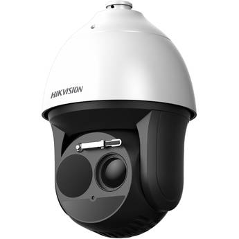Hikvision DeepinView DS-2TD4166-50/V2 Bispectrum Thermal & Optical PTZ Network Dome Camera with 50mm Thermal Lens