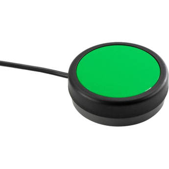 X-keys Green One Button Switch