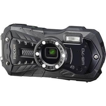 Ricoh WG-70 Digital Camera (Black)