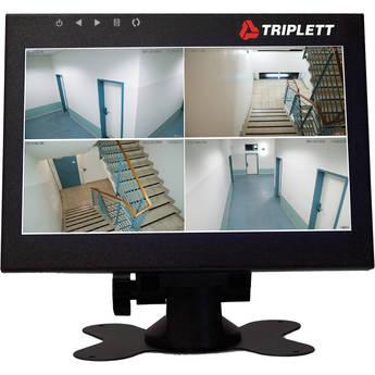 "Triplett HDCM3 8"" 1080p LED-Backlit Surveillance Video Test Monitor"