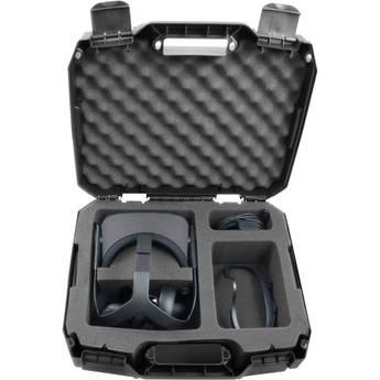 Casematix Carry Case with Custom Foam for Oculus Quest VR Headset & Accessories (Gen 1)