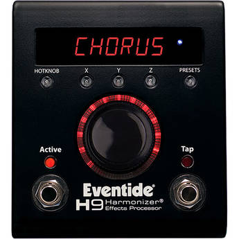 Eventide H9 MAX Effects Pedal with Bluetooth Control (Limited Edition Dark)