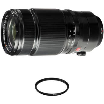 FUJIFILM XF 50-140mm f/2.8 R LM OIS WR Lens with UV Filter Kit