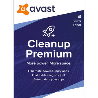 Avast Cleanup Premium 2020 (1-Year Subscription, 5 Devices, Download)