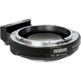 Metabones Speed Booster Ultra 0.71x Adapter for Canon FD/FL-Mount Lens to Micro Four Thirds-Mount Camera