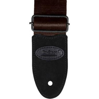 On-Stage GSA20BR Seatbelt Guitar Strap (Brown)
