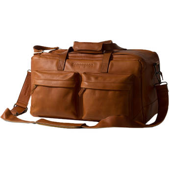 """compagnon """"the weekender"""" Leather Camera Bag (Light Brown)"""
