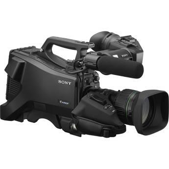 Sony HXC-FB80 Full HD Studio Camera with ENG VF, Mic, 20x Lens & Lemo Connector
