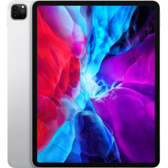 """Apple 12.9"""" iPad Pro (Early 2020, 128GB, Wi-Fi + 4G LTE, Silver)"""