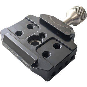 ProMediaGear Arca-Type Clamp for Straps, Holsters, L-Brackets with Built-In Arca Dove Tail