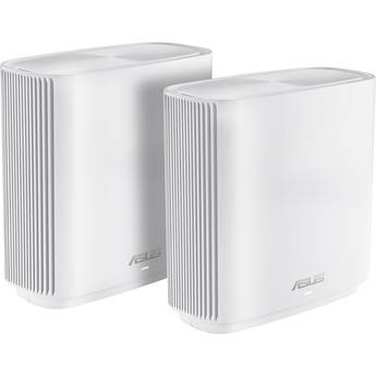 ASUS ZenWiFi CT8 AC3000 Wireless Tri-Band Mesh Wi-Fi System (2-Pack, White)