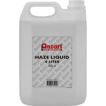 Antari HZL-4 Oil-Based Haze Liquid for Haze Machines (4 Liters)
