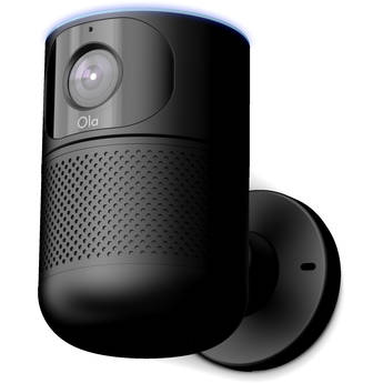 Ola GA10001 1080p Outdoor Smart Security Wi-Fi Camera with Night Vision & Personalized Security Assistant