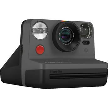 Polaroid Now Instant Film Camera (Black)