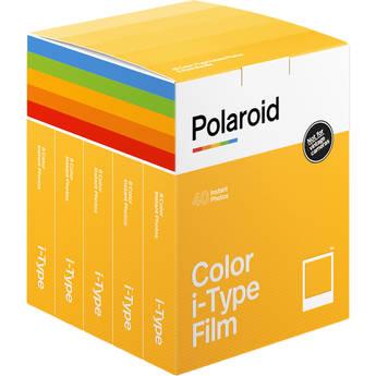 Polaroid Color i-Type Instant Film (5-Pack, 40 Exposures)