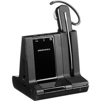 Plantronics Savi 8245-M Office Wireless DECT Headset (Convertible, Unlimited Talk, Microsoft Optimized)