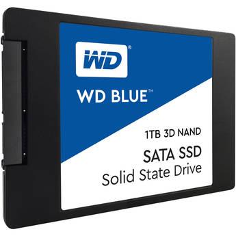 """WD 1TB Blue 3D NAND SATA III 2.5"""" Internal SSD"""