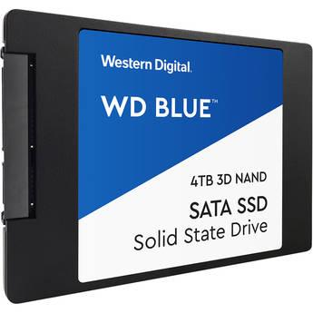 """WD 4TB Blue 3D NAND SATA III 2.5"""" Internal SSD"""