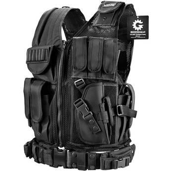 Barska Loaded Gear Right Hand Tactical Vest VX-200 (Black)