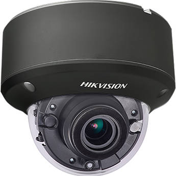 Hikvision TurboHD DS-2CE56H0T-AVPIT3ZFB 5MP Outdoor HD Analog Dome Camera with Night Vision & 2.7-13.5mm Lens (Black)