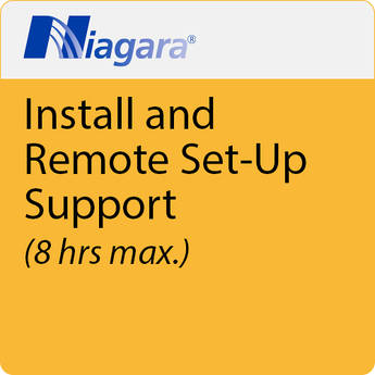 Niagara Install Support Remote Set Up And Install Support (8HRS Max)