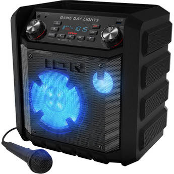 ION Audio Game Day Lights Wireless Rechargeable Speaker System