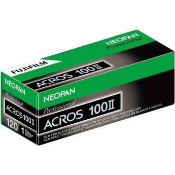 FUJIFILM Neopan 100 Acros II Black and White Negative Film (120 Roll Film)