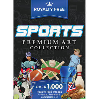 Encore Royalty-Free Premium Sports Image Collection for Mac (Download)