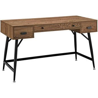 Modway Surplus Office Desk (Walnut)
