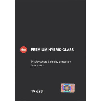 Leica Premium Hybrid Glass Display Protection for Leica M10, M10-P, M10 Monochrom, SL, Q2